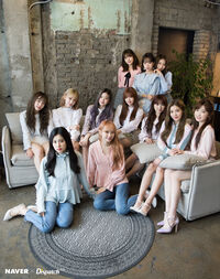 Naver x Dispatch IZONE 2