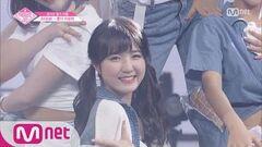 PRODUCE48 단독 직캠 일대일아이컨택ㅣ혼다 히토미 - Little Mix ♬Touch @댄스 포지션 평가 180720 EP