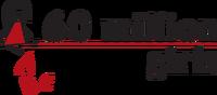 60 millions girls logo