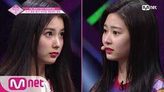 ENG sub PRODUCE48 1회 희망 포지션 청순! 배쌤의 평가는?!ㅣ에잇디강혜원, 얼반웍스김민주 180615 EP