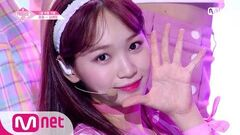 PRODUCE48 단독 직캠 일대일아이컨택ㅣ김채원 - 트와이스 ♬OOH-AHH하게 1조 @그룹 배틀 180629 EP
