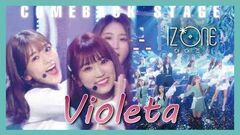 ComeBack Stage IZ*ONE - Violeta , 아이즈원 - 비올레타 Show Music core 20190406