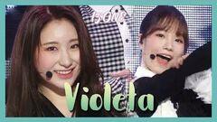 HOT IZ*ONE - Violeta , 아이즈원 - 비올레타 Show Music core 20190420