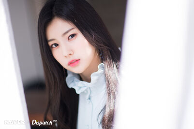 Naver x Dispatch Hyewon 1