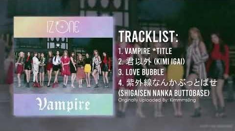 Full Album IZ*ONE (아이즈원) - VAMPIRE (3rd Japan Album)