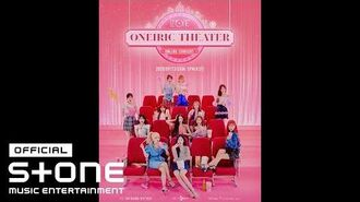 IZ*ONE ONLINE CONCERT ONEIRIC THEATER 무빙포스터