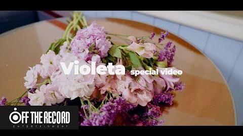 SPECIAL VIDEO IZ*ONE (아이즈원) - 비올레타 (Violeta) Flower Ver