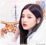 Wonyoung Vampire Album Cover