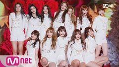 2018 MAMA PREMIERE in KOREA IZ*ONE INTRO La Vie en Rose 181210
