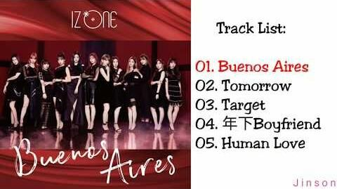 FULL ALBUM IZ*ONE - BUENOS AIRES (SPECIAL EDITION) (Japanese)
