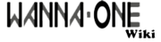 Wanna One Wiki Wordmark