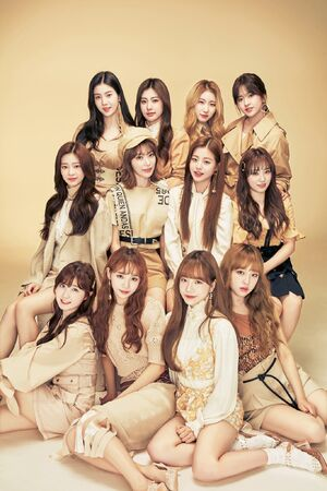 Elle magazine Japan IZONE 1