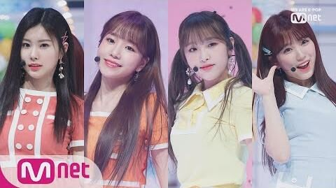 IZ*ONE - Up MCD PREMIERE SHOWCASE Stage M COUNTDOWN 190404 EP