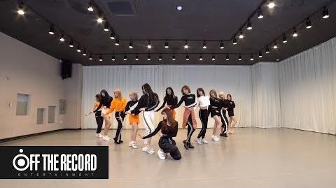 IZ*ONE (아이즈원) - 'FIESTA' Dance Practice