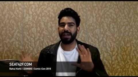 Rahul Kohli iZOMBIE Interview Comic Con 2016-0