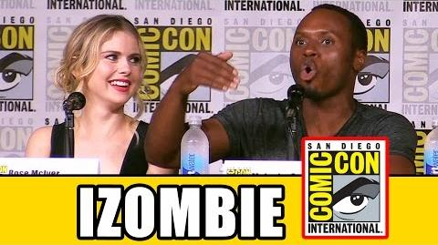 IZOMBIE Comic Con 2016 Panel Highlights (Pt1) - Rose McIver, David Anders, Season 3