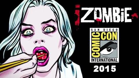 IZombie Panel San Diego Comic-Con 2015