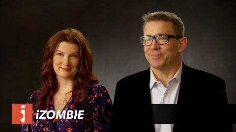 IZombie - Interview Rob Thomas & Diane Ruggiero