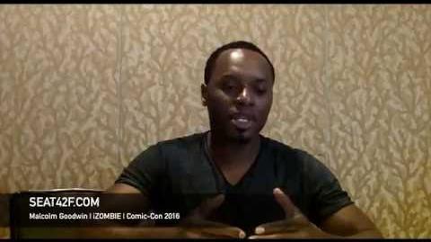 Malcolm Goodwin iZOMBIE Interview Comic Con 2016
