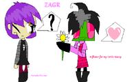 A Flower for my little Gazzy (ZAGR)