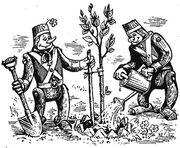 Дуболомы садоводы. Илл. Александра Коваля