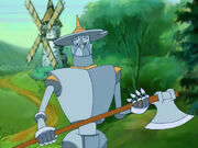 Железный Дровосек - «Приключения в Изумрудном городе». Мультфильм 1999-2000