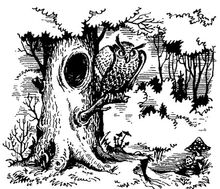 Гуамоколатокинт в изгнании. Илл. Александра Коваля