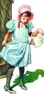 Dorothy Gale. Illustrator Charles Santore.