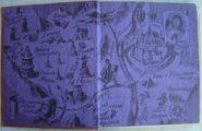 Карта волшебной страны. Иллюстрация И. Шурица