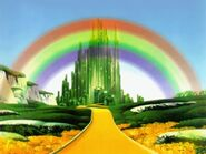 The Emerald City. The Wizard Of Oz 1939
