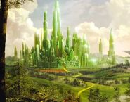 Oz the Great and Powerful. Emerald City