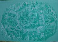 Карта Волшебной страны. Илл. Анны Власовой