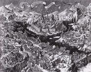 Карта Волшебной страны. Илл. Виктора Бахтина.