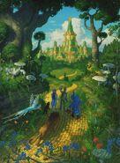 The Wonderful Wizard of Oz. Illustrator Greg Hildebrandt