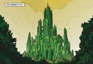 The Emerald City. Wonderful Wizard Of Oz (Marvel comics)
