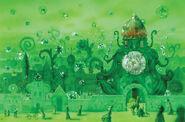 Иллюстрация Юлия Гукова «Великий чародей страны Оз»- Изумрудный город.
