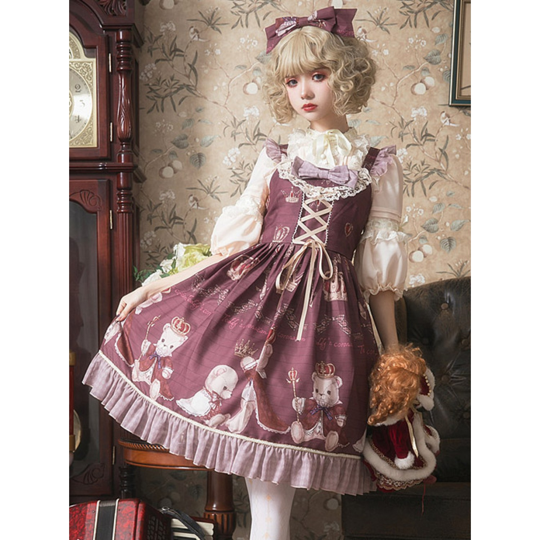 Miracles -Freya- Vintage Classic Lolita Jumper Dress