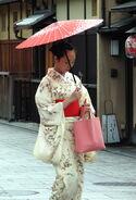 Kimono lady at Gion, Kyoto