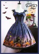 Pumpkin-cat-halloween-carnival-high-waist-lolita-jumper-dress-pc-41-2