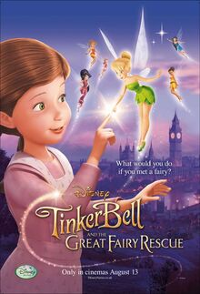 Tinker Bell and the Great Fairy Rescue poster