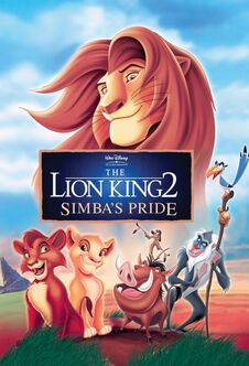 The Lion King 2 Simba's Pride poster