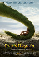 Pete's Dragon 2016 poster