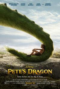 Pete's Dragon 2016 poster