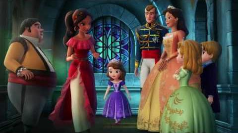 Elena Of Avalor & Sofia The First Crossover - Elena And The Secret Of Avalor (Promo)
