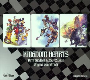 Kingdom Hearts Birth By Sleep and 358-2 Days Original Soundtrack cover