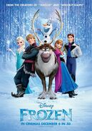 Frozen 2013 poster