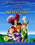 Return to Never Land DVD poster
