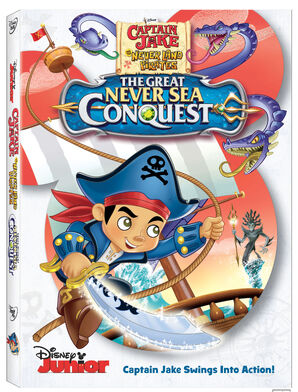 The Great Never Sea Conquest DVD cover
