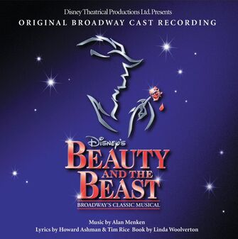 Beauty and the Beast Original Broadway cover