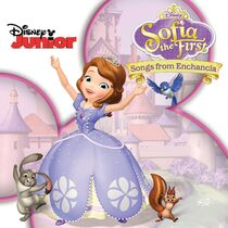 Sofia the First Songs From Enchancia CD cover